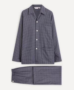 Core Piped Classic Fit Brushed Cotton Check Pyjama