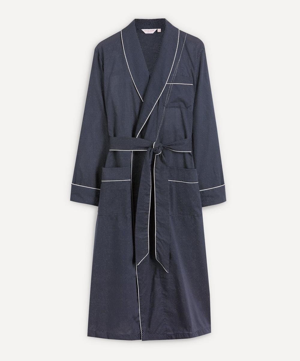 Derek Rose - Core Cotton Spotted Robe