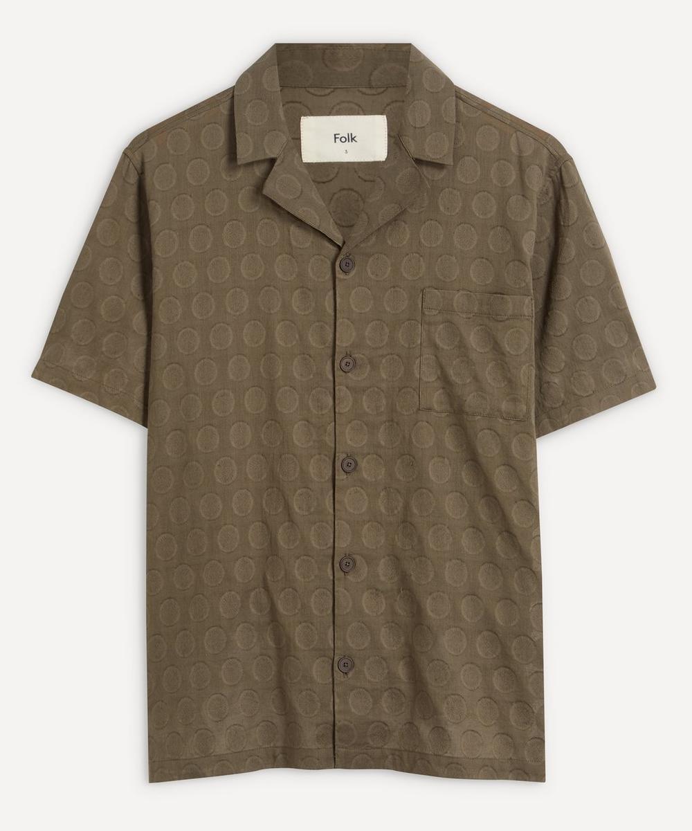 Folk - Soft Collar Short-Sleeved Shirt