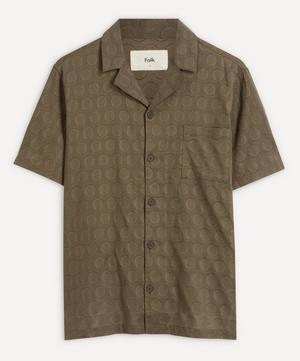 Soft Collar Short-Sleeved Shirt