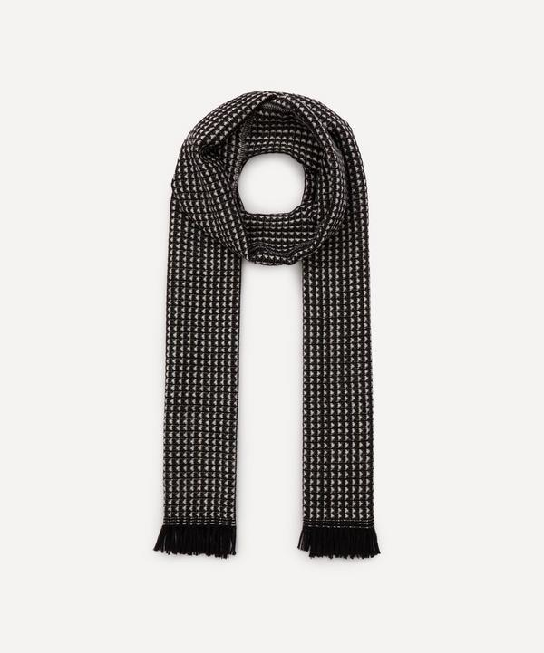 Nick Bronson - Micro Pattern Wool Scarf