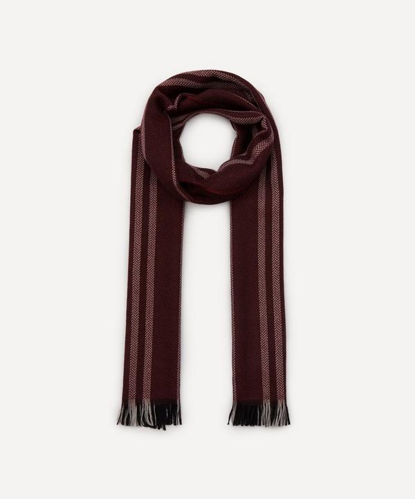 Nick Bronson - Herringbone Stripe Wool Scarf