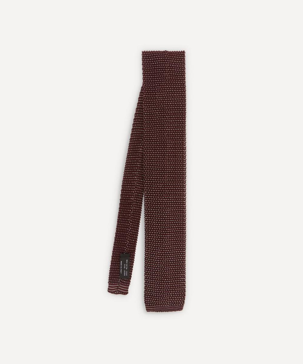 Nick Bronson - Two-Tone Knitted Silk Tie