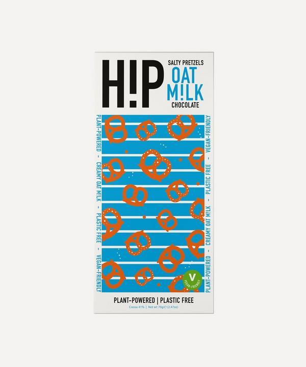 HiP Chocolate - Salty Pretzels Vegan Oat Milk Chocolate Bar 70g