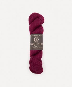 Bordeaux Exquisite Lace Yarn