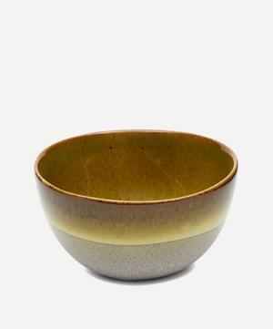 Nero Glazed Stoneware Cereal Bowl