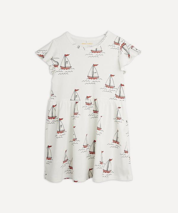Mini Rodini - Sailing Boats Dress 0-12 Months