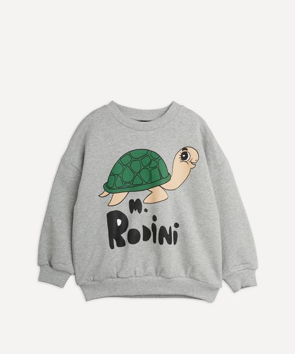 Mini Rodini - Turtle Sweatshirt 0-12 Months