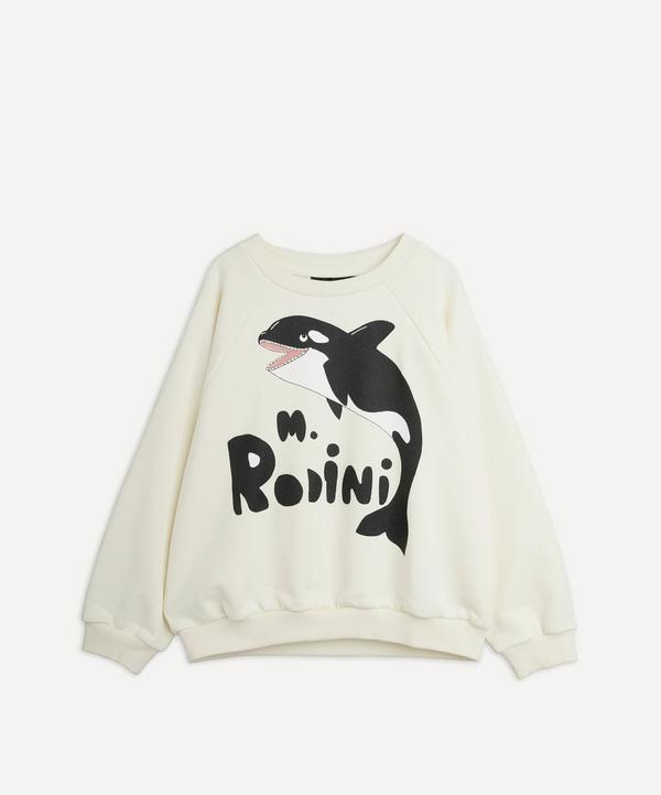 Mini Rodini - Orca Sweatshirt 0-12 Months