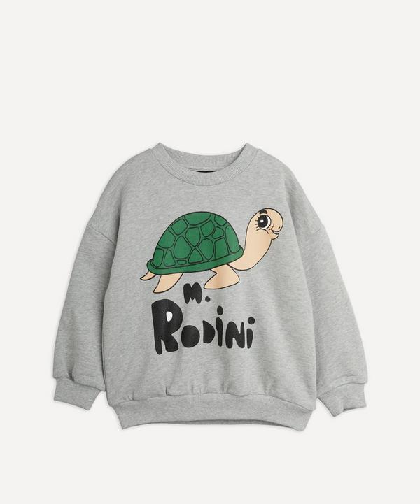 Mini Rodini - Turtle Sweatshirt 18 Months-8 Years