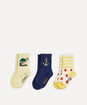 Anchor Socks Set of Three Size 20-23