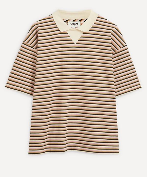 YMC - Frat Polo Stripe T-Shirt