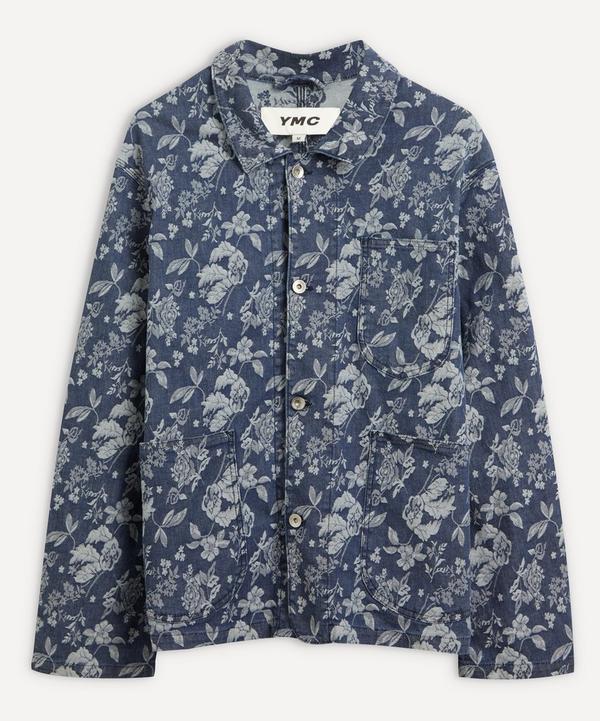 YMC - Labour Chore Floral Denim Jacket