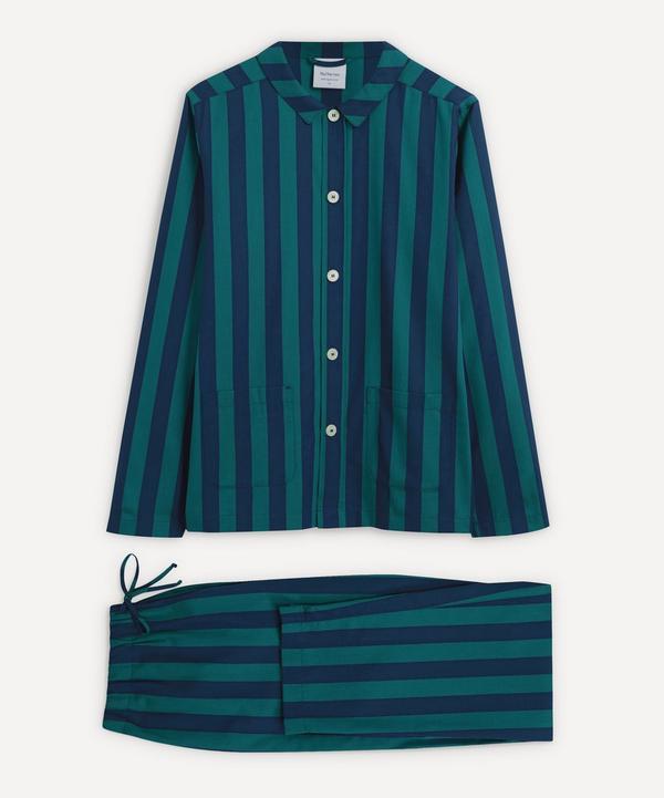 Nufferton - Uno Blue and Green Striped Pyjamas