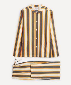 Uno Yellow and Blue Striped Pyjamas