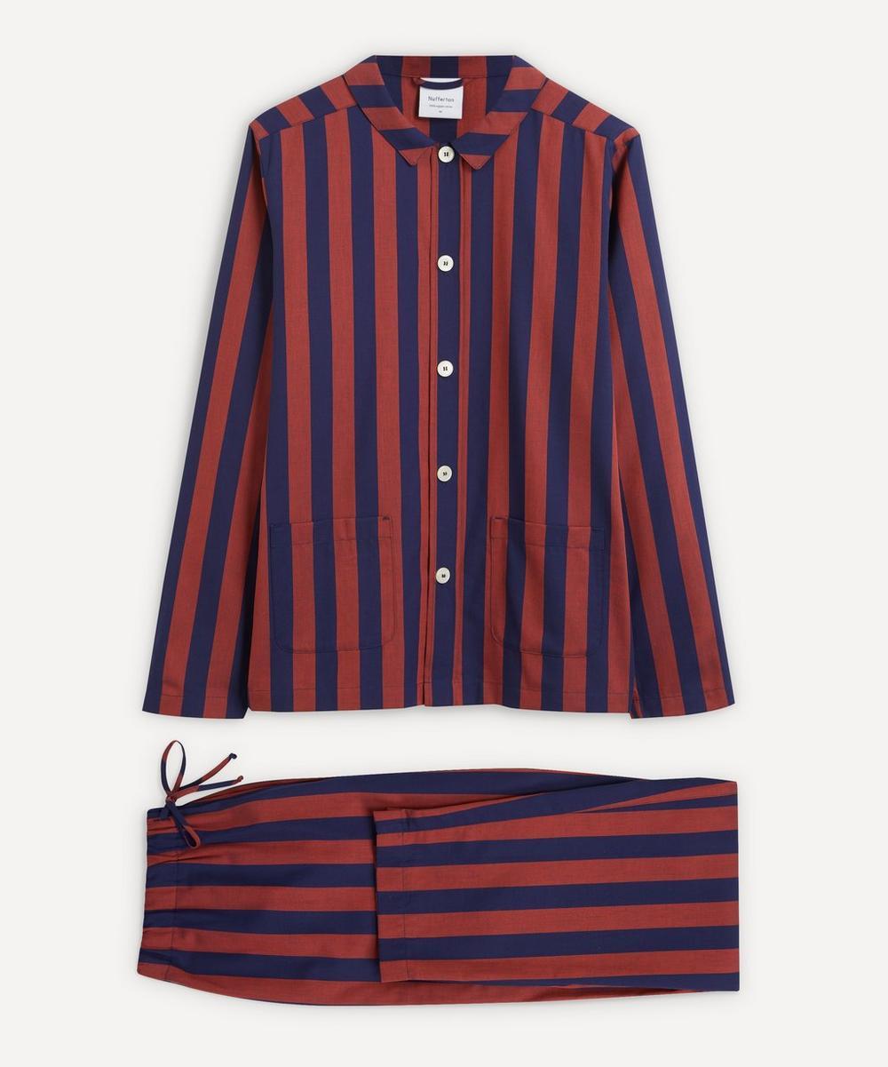 Nufferton - Uno Blue and Red Striped Pyjamas