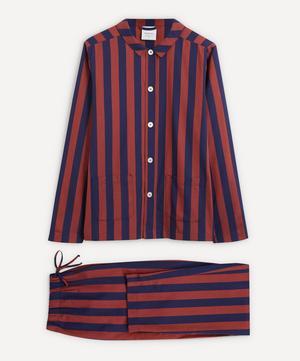 Uno Blue and Red Striped Pyjamas