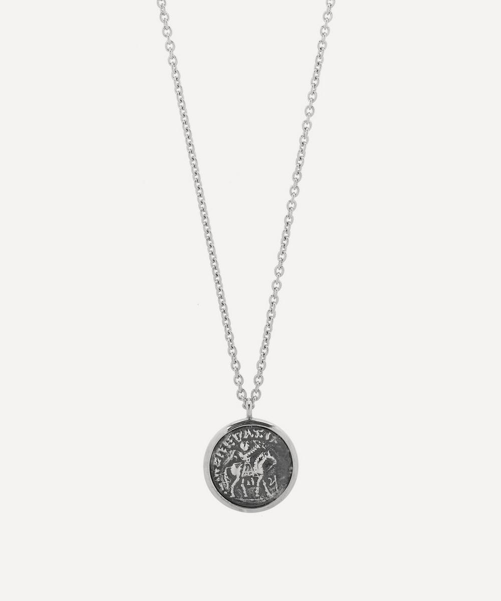 Tom Wood - Silver Coin Pendant