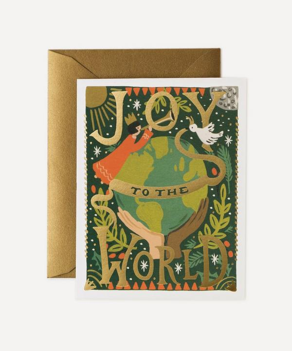 Rifle Paper Co. - Joy to the World Christmas Cards Box of Eight