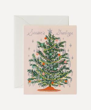 Tinsel Tree Christmas Cards Box of Eight