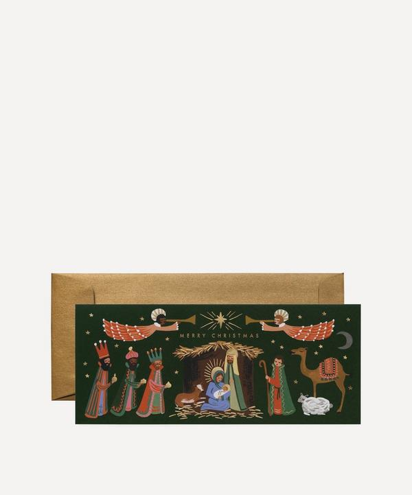 Rifle Paper Co. - Holiday Nativity Christmas Cards Box of Eight