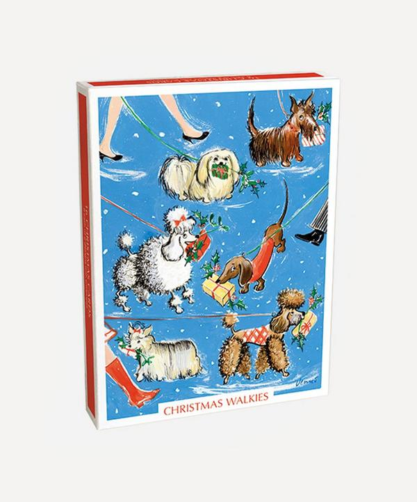 Unspecified - Christmas Walkies Cards Box of 16