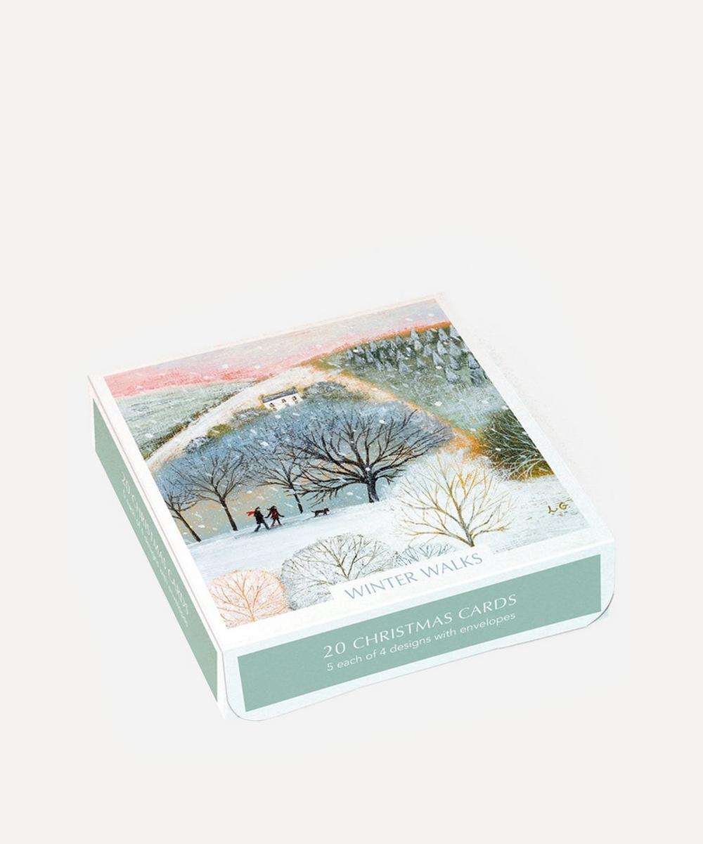 Unspecified - Winter Walks Christmas Cards Box of 20