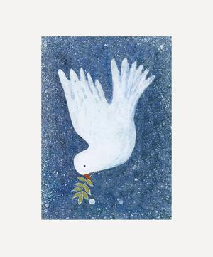 Dove with Mistletoe Christmas Cards Pack of Eight