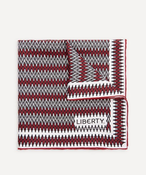 Liberty - Ripley Printed Silk Pocket Square