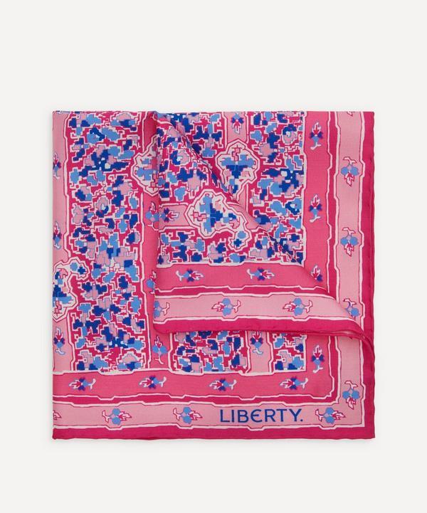 Liberty - Betley Printed Silk Pocket Square
