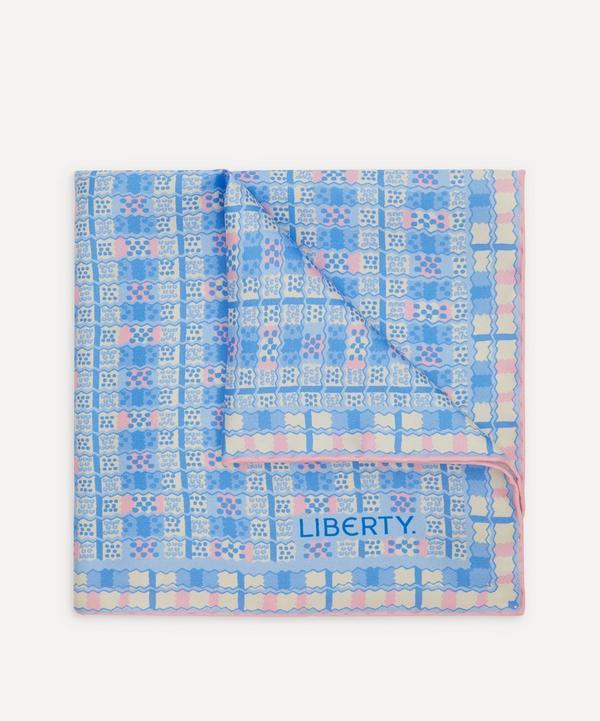 Liberty - Mickley Printed Silk Pocket Square