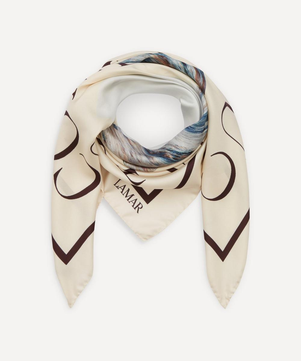 LAMAR - The Sea You Come From Silk Scarf