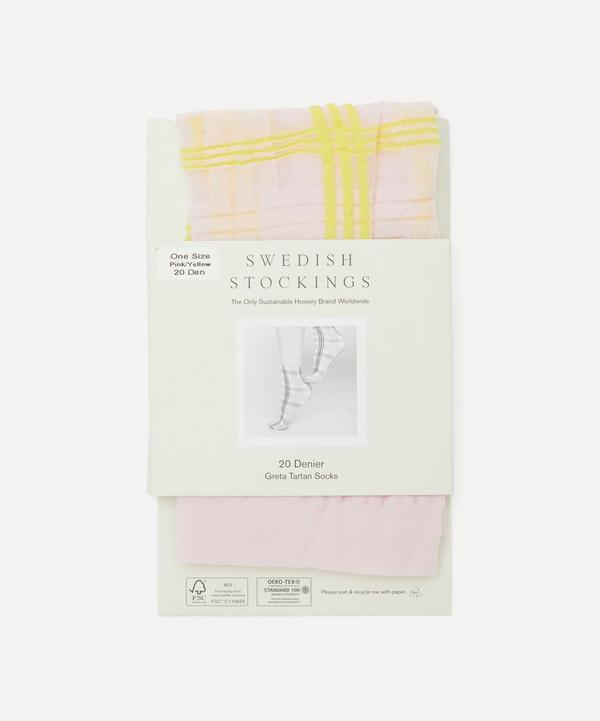Swedish Stockings - Greta 20 Denier Tartan Socks
