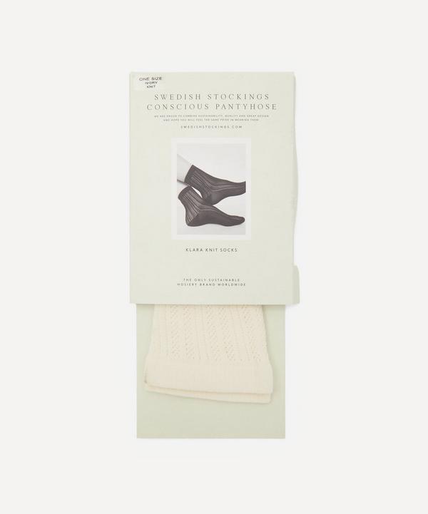 Swedish Stockings - Klara Recycled Knit Socks