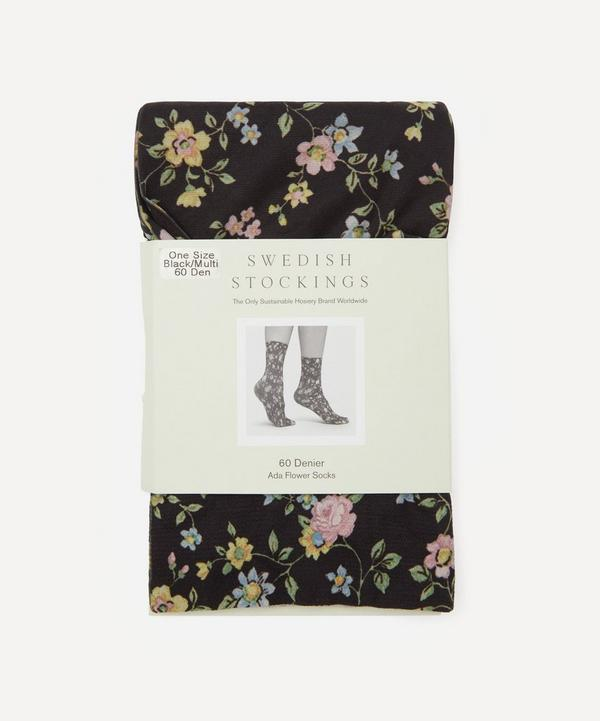 Swedish Stockings - Ada 60 Denier Recycled Flower Socks
