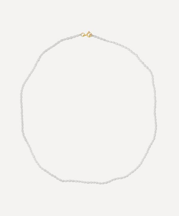 Anna + Nina - Gold-Plated Pearl Necklace