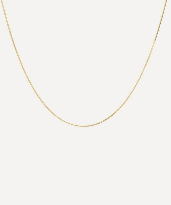 Anna + Nina - Gold-Plated Medium Plain Chain Necklace