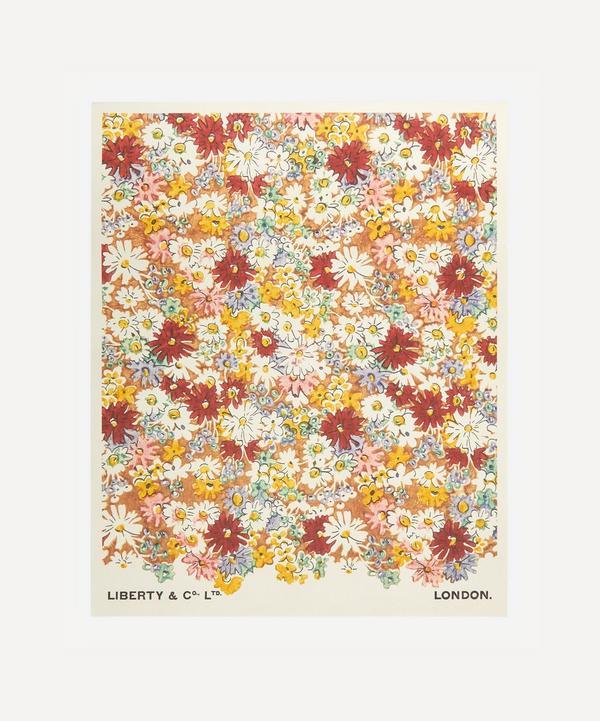 Liberty - Unframed Libby's Daisies Archive Liberty Art Print