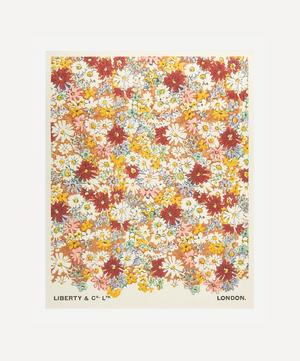 Unframed Libby's Daisies Archive Liberty Art Print