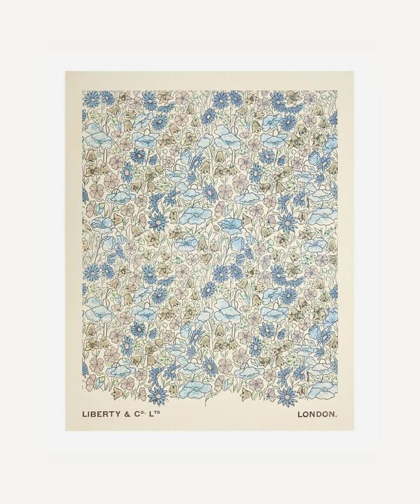 Liberty - Unframed Poppy and Daisy Archive Liberty Art Print