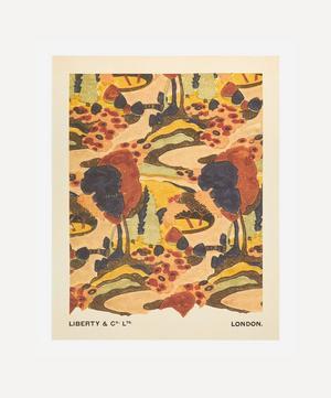 Unframed Persian Path Archive Liberty Art Print