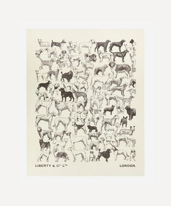 Liberty - Unframed A Gathering of Dogs Archive Liberty Art Print