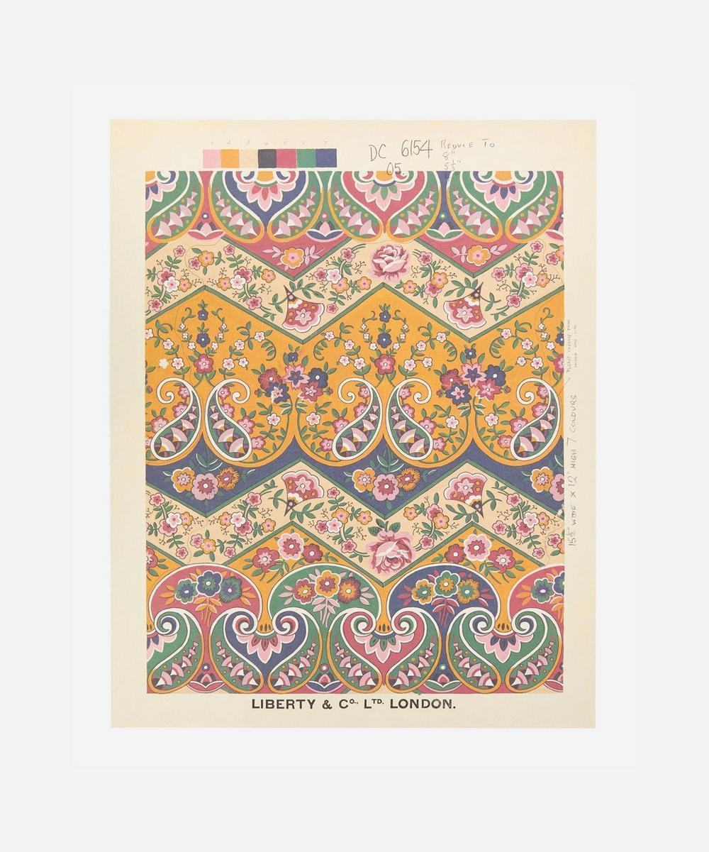 Liberty - Unframed Georgia Paisley Archive Liberty Art Print