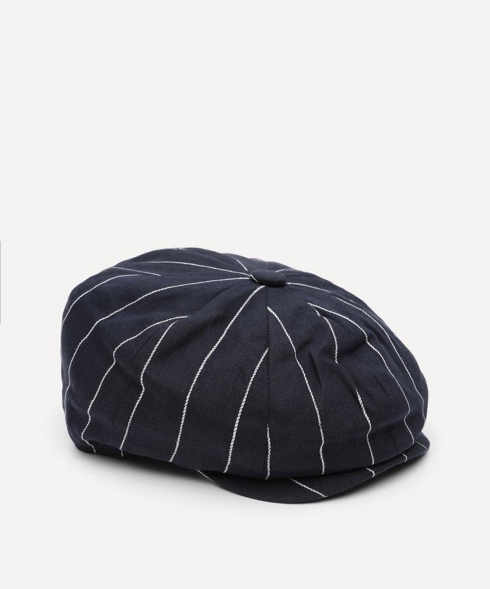 Christys' - Bakerboy Linen Cap