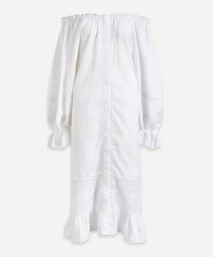 Paloma Off-Shoulder Linen Dress