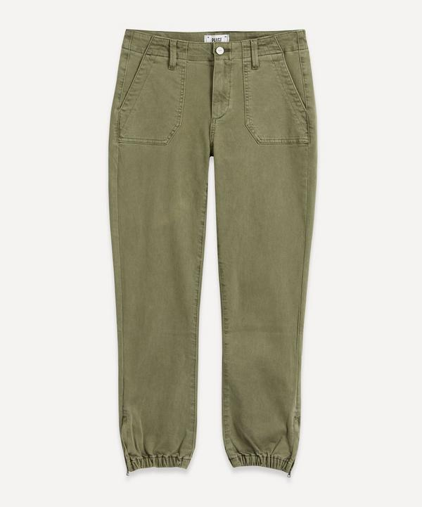 Paige - Mayslie Cotton Twill Joggers