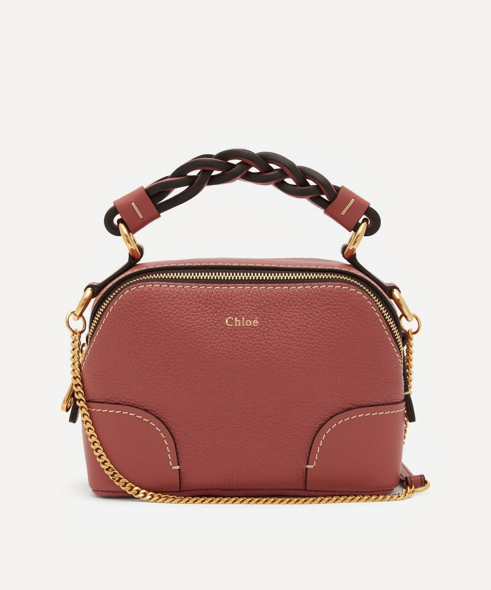 Chloé - Daria Mini Leather Chain Handbag
