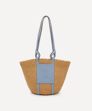 Large Fair-Trade Paper Basket Bag