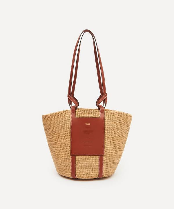 Chloé - Large Fair-Trade Paper Basket Bag
