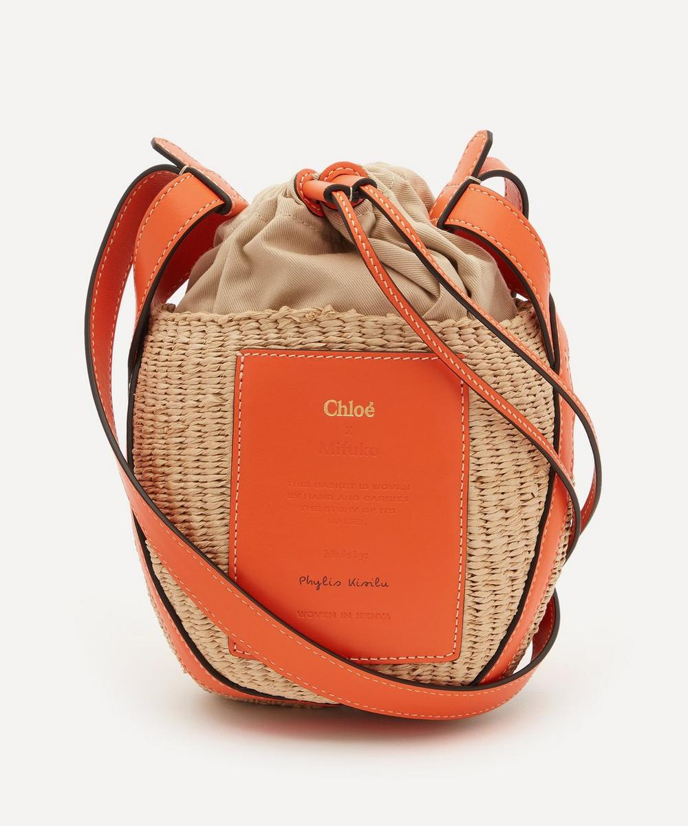 Chloé - Small Fair-Trade Paper Basket Bag